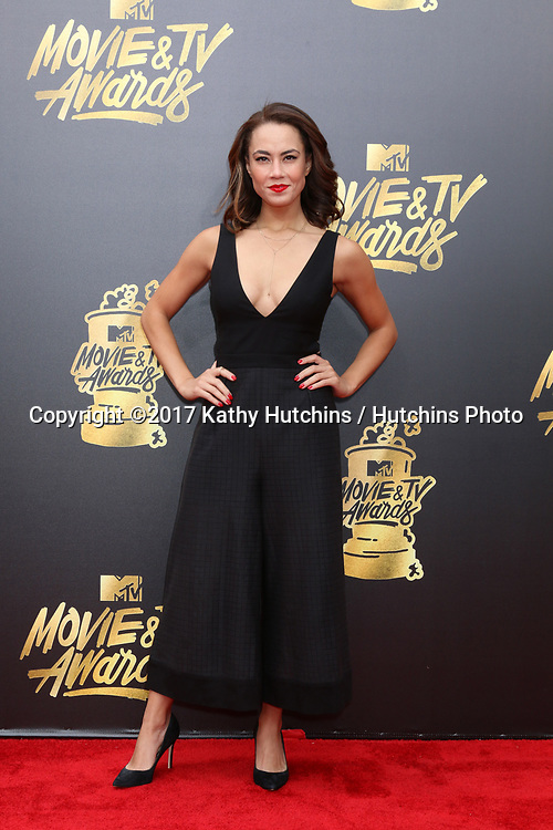 LOS ANGELES - MAY 7:  Alex Hudgens at the MTV Movie and Television Awards on the Shrine Auditorium on May 7, 2017 in Los Angeles, CA