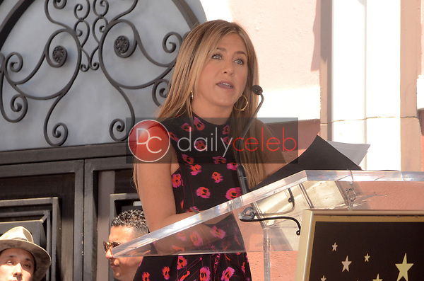 Jennifer Aniston<br /> at the Jason Bateman Star on the Hollywood Walk of Fame, Hollywood, CA 07-26-17<br /> David Edwards/DailyCeleb.com 818-249-4998