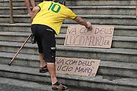 RIO DE JANEIRO, RJ, 13.05.2019: LUCIO MAURO-RIO - Filhos, amigos e familiares se despendem do ator Lúcio Mauro em velório no Theatro Municipal no centro do Rio de Janeiro na tarde desta segunda-feira (13). (Foto: Celso Barbosa/Código19)