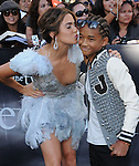 Nikki Reed and Jaden Smith at the Summit Entertainment's Premiere of The Twilight Saga : Eclipse held at the Los Angeles Film Festival at Nokia Live in Los Angeles, California on June 24,2010                                                                               © 2010 Debbie VanStory / Hollywood Press Agency