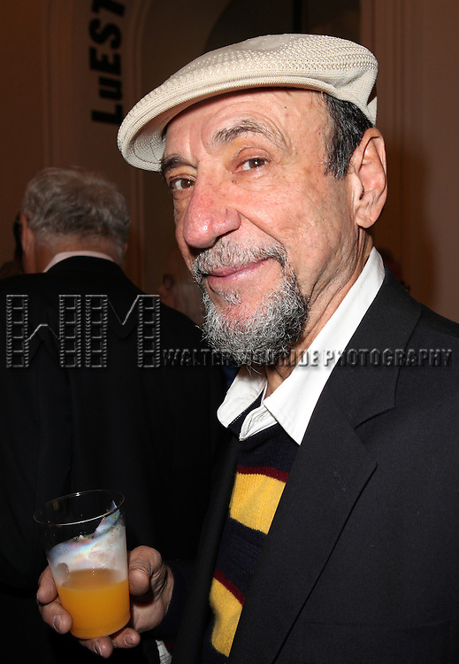 F. Murray Abraham attending the Unveiling of the Revitalized Public Theater at Astor Place in New York City on 10/4/2012.