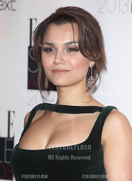 Samantha Barks arriving at the 2013 Elle Style Awards, at The Savoy, London. 11/02/2013 Picture by: Alexandra Glen / Featureflash