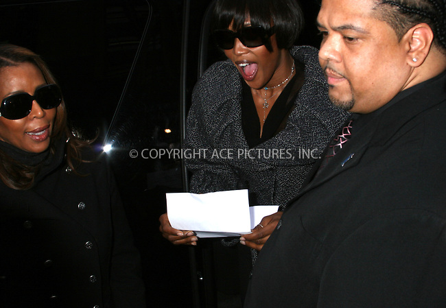 WWW.ACEPIXS.COM ** ** ** ....January 16, 2007, New York City. ....Naomi Campbell Leaves Manhattan Criminal Court and does a Press Conference before getting in to her Car.....Please byline: John Ward -- ACEPIXS.COM....Please note:........ *** ***  ..Ace Pictures, Inc:  ..Philip Vaughan (212) 243-8787 or (646) 769 0430..e-mail: info@acepixs.com..web: http://www.acepixs.com