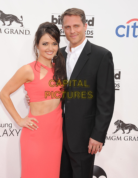 LAS VEGAS, CA- MAY 18: Actress Danica McKellar (L) and guest arrive at the 2014 Billboard Music Awards at the MGM Grand Garden Arena on May 18, 2014 in Las Vegas, Nevada.<br /> CAP/ROT/TM<br /> &copy;Tony Michaels/Roth Stock/Capital Pictures
