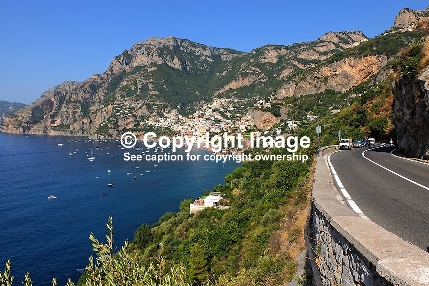 GV, Positanto, Amalfi Coast, Italy, September, 2015, 201509161584<br /> <br /> Copyright Image from Victor Patterson, 54 Dorchester Park, Belfast, UK, BT9 6RJ<br /> <br /> t1: +44 28 9066 1296<br /> t2: +44 28 9002 2446<br /> m: +44 7802 353836<br /> e: victorpatterson@me.com<br /> <br /> www.victorpatterson.com<br /> <br /> IMPORTANT: Please see my Terms and Conditions of Use at www.victorpatterson.com