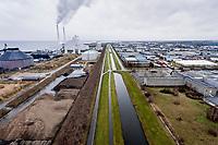 Dronebilleder af vindm&oslash;ller p&aring; Aved&oslash;re Holme<br /> Foto: Jens Panduro