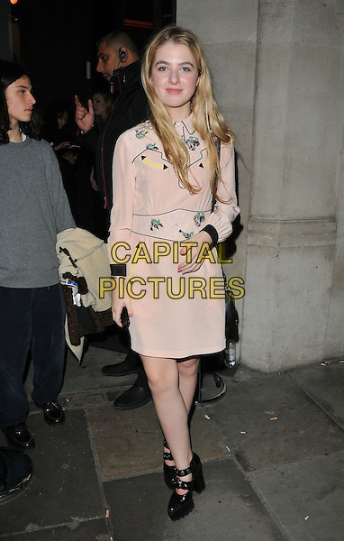 Anais Gallagher at the Coach flagship store opening party, Coach, Regent Street, London, England, UK, on Thursday 24 November 2016. <br /> CAP/CAN<br /> &copy;CAN/Capital Pictures