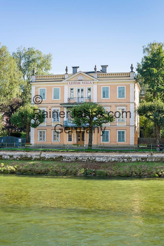 Austria, Upper Austria, Salzkammergut, Bad Ischl: Lehar-Villa (Museum) | Oesterreich, Oberoesterreich, Salzkammergut, Bad Ischl: Lehar-Villa (Museum)