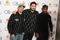 Amir Amor, Kesi Dryden, DJ Locksmith of Rudimental arriving for The Other Ball charity Gala held at One Mayfair, London. 04/06/2014 Picture by: James Smith / Featureflash