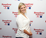 Laura Heywood attends Broadway Salutes 10 Years - 2009-2018 at Sardi's on November 13, 2018 in New York City.