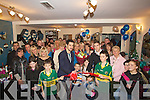 CUTTING: Paul Galvin and Killian Young of the 2009 victorious Kerry team who officially opened DENISE hair Salon in Rock Street Tralee on Saturday were a large crowd gathered. ......