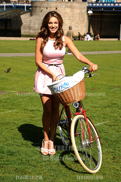 Kelly Brook launches the 2011 Skyride at Potters Field, London. 26/08/2011 Picture by: Steve Vas / Featureflash
