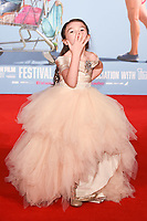 Brooklyn Kimberly Prince at the London Film Festival 2017 screening of &quot;The Florida Project&quot; at Odeon Leicester Square, London, UK. <br /> 13 October  2017<br /> Picture: Steve Vas/Featureflash/SilverHub 0208 004 5359 sales@silverhubmedia.com