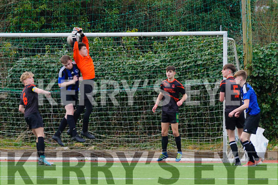 Goalkeeper Conor Hayes was on top form on Saturday as his team St. Brendans Park faced off against Conns Rangers as part of The FAI Youth Cup (last 16).