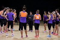 01.09.2017  Silver Ferns training session ahead of the Quad Series at the ILT Stadium Southland in Invercargill. Mandatory Photo Credit ©Copyright photo: Dianne Manson/Michael Bradley Photography
