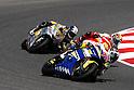 July 4, 2010 - Catalunya, Spain -  Doha, Qatar - Japanese rider Yuki Takahashi (Tech 3 Racing) powers his bike during the Catalunya Grand Prix on July 4, 2010. (Photo Andrew Northcott/Nippon News).