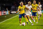 17.07.2017, Rat Verlegh Stadion, Breda, NLD, Breda, UEFA Women's Euro 2017 , <br /> <br /> im Bild | picture shows<br /> Elin Rubinson (Schweden #23) gegen Anna Blaesse (Deutschland #14), <br /> <br /> Foto &copy; nordphoto / Rauch