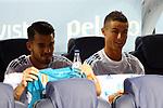 Supercopa de Espa&ntilde;a - Ida.<br /> FC Barcelona vs R. Madrid: 1-3.<br /> Dani Ceballos &amp; Cristiano Ronaldo.