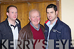 Dermot and Dan O'Donnell with Joe Murphy from Templeglantine pictured last Friday night for a special charity ceili in aid of The Chernobyl Children's Project in the Devon Inn, Templeglantine.