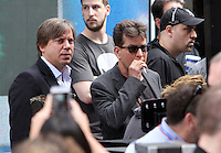 NEW YORK, NY-June 21: Charlie Sheen at NBC's Today Show Citi Concert Series to talk about what going with his life in New York. NY June 21, 2016. Credit:RW/MediaPunch