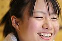 Kanae Yagi, MARCH 6, 2011 - Weightlifting : Kanae Yagi celebrates after winning during the all japan junior Weightlifting championship Women's 53kg class in Saitama city, Saitama Japan. (Photo by Yusuke Nakanishi/AFLO SPORT) [1090]