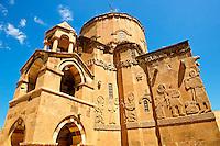 10th century Armenian Orthodox Cathedral of the Holy Cross on Akdamar Island, Lake Van Turkey 75