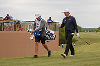 Ernie Els (RSA) makes his way down 11 during Round 2 of the Valero Texas Open, AT&amp;T Oaks Course, TPC San Antonio, San Antonio, Texas, USA. 4/20/2018.<br /> Picture: Golffile   Ken Murray<br /> <br /> <br /> All photo usage must carry mandatory copyright credit (&copy; Golffile   Ken Murray)