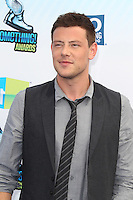 SANTA MONICA, CA - AUGUST 19: Cory Monteith at the 2012 Do Something Awards at Barker Hangar on August 19, 2012 in Santa Monica, California. Credit: mpi21/MediaPunch Inc. /NortePhoto.com<br />