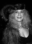Sylvia Miles attends an Opening on May 10, 1983 in New York City.
