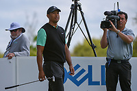 Tiger Woods (USA) looks over his tee shot on 3 during day 2 of the WGC Dell Match Play, at the Austin Country Club, Austin, Texas, USA. 3/28/2019.<br /> Picture: Golffile | Ken Murray<br /> <br /> <br /> All photo usage must carry mandatory copyright credit (© Golffile | Ken Murray)