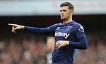 West Ham's Aaron Cresswell during the Premier League match at the Emirates Stadium, London. Picture date: 7th March 2020. Picture credit should read: Paul Terry/Sportimage