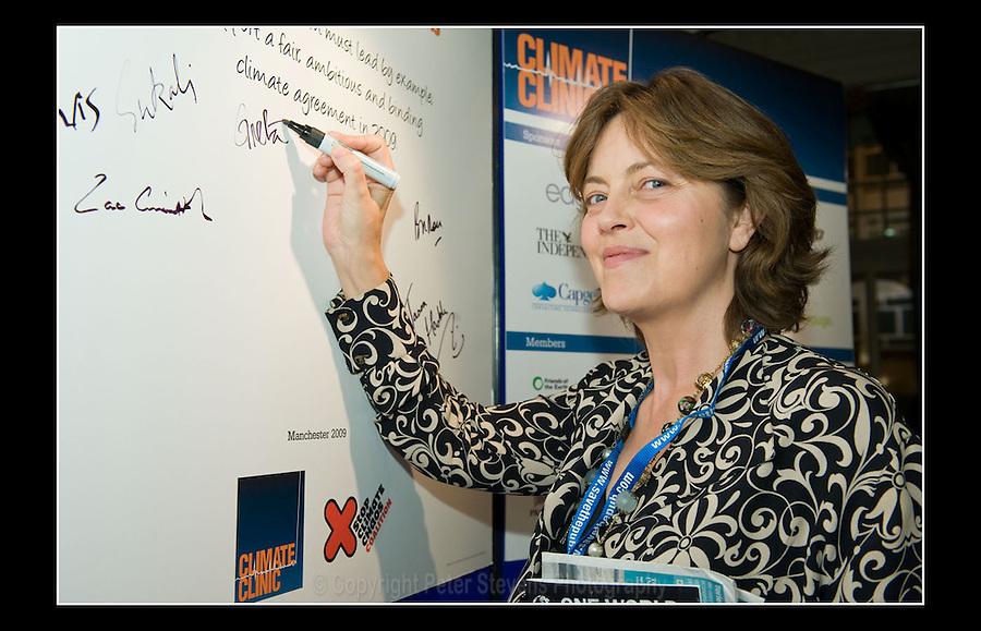 Greta Scacchi - Climate Clinic - Manchester Central - 7th October 2009