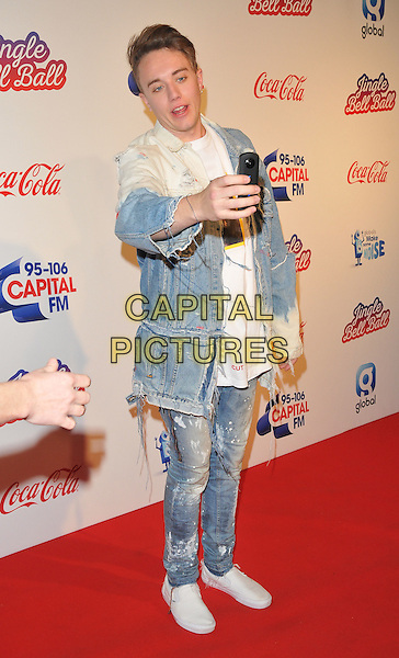 Roman Kemp at the Capital FM Jingle Bell Ball, The London O2 Arena, Peninsula Square, London, England, UK, on Saturday 03 December 2016. <br /> CAP/CAN<br /> &copy;CAN/Capital Pictures