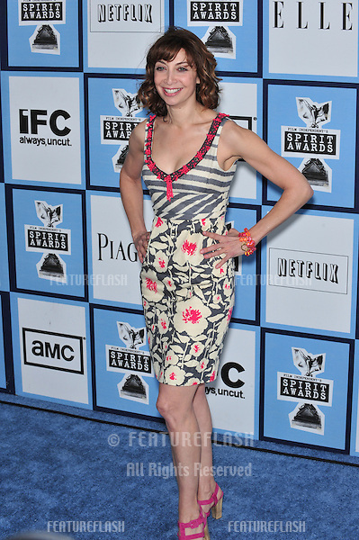 Illeana Douglas at Film Independent's 23rd Annual Spirit Awards on the beach in Santa Monica, CA..February 23, 2008 Santa Monica, CA.Picture: Paul Smith / Featureflash