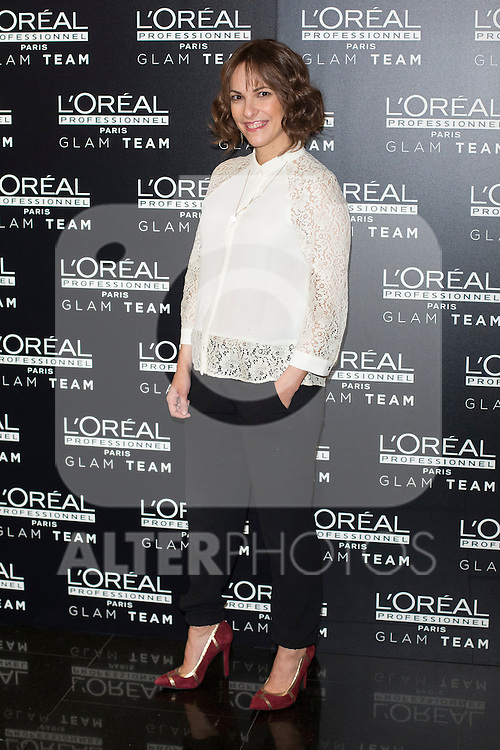 Film director Paula Ortiz poses during a Loreal promotional presentation in Madrid, Spain. January 14, 2016. (ALTERPHOTOS/Victor Blanco)