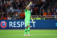 Torwart Jasper Cillessen (Niederlande) - 13.10.2018: Niederlande vs. Deutschland, 3. Spieltag UEFA Nations League, Johann Cruijff Arena Amsterdam, DISCLAIMER: DFB regulations prohibit any use of photographs as image sequences and/or quasi-video.