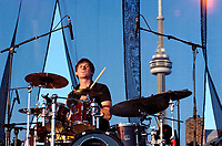 Toronto (ON), July 29, 2007 - Bedouin Soundclash performs at Rogers Picnic at Fort York.