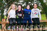 At the Kerry ETB orienteering event in Ballyseedy Wood on Tuesday were Kate Moroney, Ciara Casey , Niamh Murphy, Crystal juujarvi from Killorglin Community College