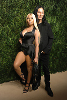 NEW YORK, NY - NOVEMBER 6: Nicki Minaj and Alexander Wang at the 14th Annual CFDA Vogue Fashion Fund Gala at Weylin in Brooklyn, New York City on November 6, 2017. Credit: John Palmer/MediaPunch /NortePhoto.com