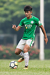 Chun Lok Tan of Wofoo Tai Po (L) in action during the week three Premier League match between BC Rangers and Wofoo Tai Po at Sham Shui Po Sports Ground on September 17, 2017 in Hong Kong, China. Photo by Marcio Rodrigo Machado / Power Sport Images