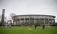 USMNT Training in Frankfurt, Germany, Monday, March 3, 2014