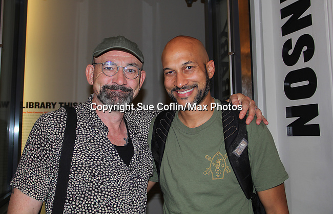08-13-17 Ritchie Coster & Keegan-Michael Key star in Hamlet at Public Theatre, NYC