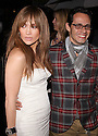 NEW YORK - APRIL 01:  Jennifer Lopez and Marc Anthony attends the Topshop/Topman launch dinner at Balthazar on April 1, 2009 in New York City.  (Photo by Soul Brother/FilmMagic)