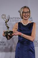 NEW YORK, NY 21.11.2016 - EMMY-2016 -  Maria Rorbye Ronn durante tapete vermelho do Emmy Internacional 2016 prêmio dos melhores atores e novelas da TV, em Nova York, nos Estados Unidos na noite desta segunda-feira, 21. (Foto: Vanessa Carvalho/Brazil Photo Press)