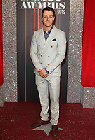 Ryan Prescott at The British Soap Awards 2019 arrivals. The Lowry, Media City, Salford, Manchester, UK on June 1st 2019<br /> CAP/ROS<br /> ©ROS/Capital Pictures
