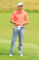 Julian Suri (USA) on the 1st fairway during Round 4 of the HNA Open De France at Le Golf National in Saint-Quentin-En-Yvelines, Paris, France on Sunday 1st July 2018.<br /> Picture:  Thos Caffrey | Golffile