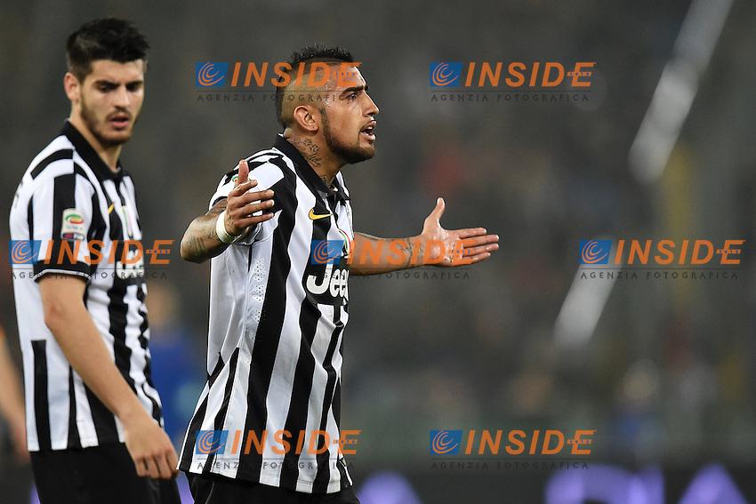 Arturo Vidal Juventus <br /> Roma 02-03-2015 Stadio Olimpico Football Calcio Serie A AS Roma - Juventus. Foto Andrea Staccioli / Insidefoto