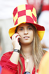 Spain Women's fans (ESP), JUNE 18, 2014 - Football / Soccer : FIFA World Cup Brazil<br /> match between Spain and Chile at the Maracana Stadium in Rio de Janeiro, Brazil. (Photo by AFLO)