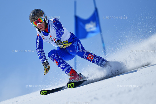 Martin France (SVK), <br /> MARCH 5, 2017 - Alpine Skiing :<br /> IPC Alpine World Cup Hakuba,<br /> Men's Giant Slalom <br /> Standing LW9-1 <br /> at Hakuba Happo One, Nagano Japan.<br /> (Photo by AFLO SPORT)