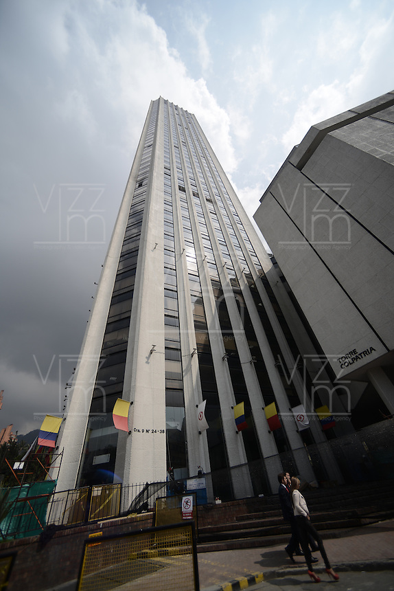 BOGOTÁ-COLOMBIA-15-01-2013. Torre Colpatria en Bogotá./ Colpatria Tower in Bogota. Photo: VizzorImage/STR